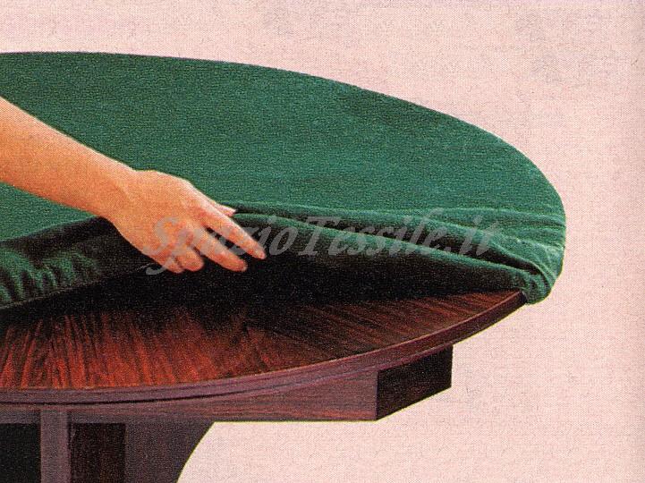 Mollettone tavolo rotondo colonna porta lavatrice - Mollettone per tavolo ...