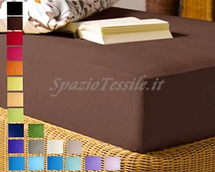 Lenzuolo Sotto Con Angoli 180x210+ H 25 cm