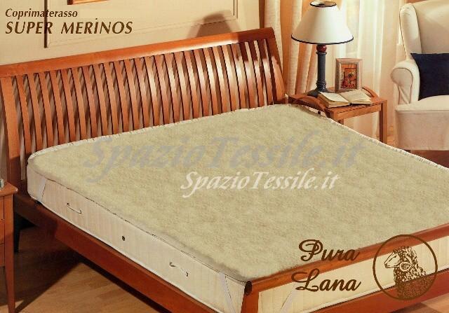 Coprimaterasso Lana Merino m500 Grammi