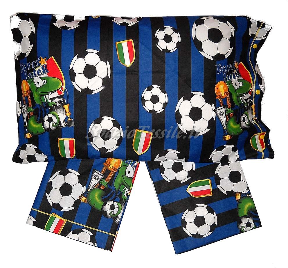 Copripiumino Inter.Parure Copripiumino Squadre Inter