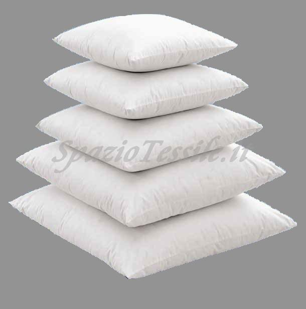 Imbottitura animella per cuscini arredo in piuma d 39 oca for Interno per cuscini