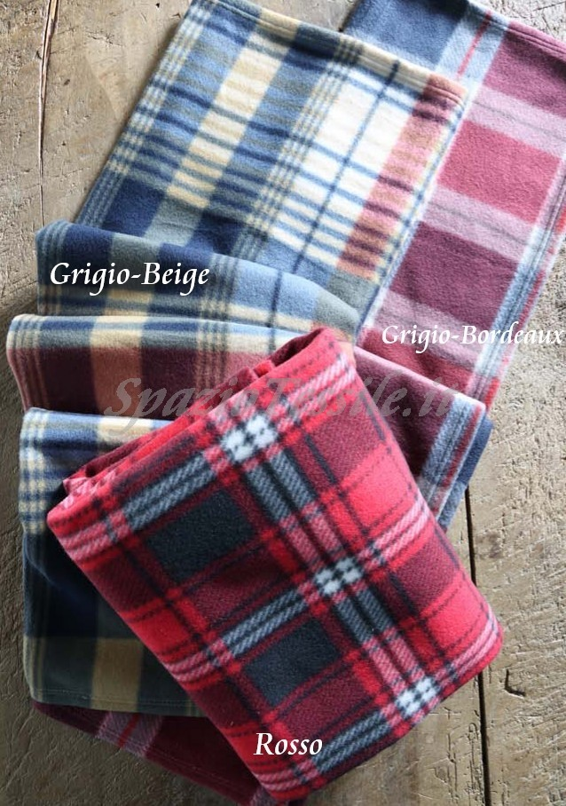 Plaid Pile Scozia