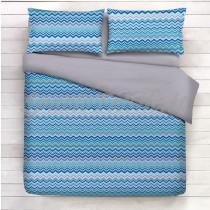 completo lenzuola bahia azzurro
