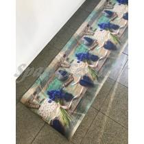 Tappeto cucina gommato multiuso 3D cuori jeans love