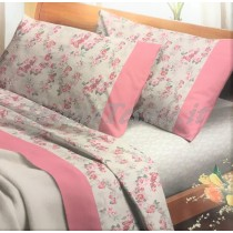 completo lenzuola 5318 rosa