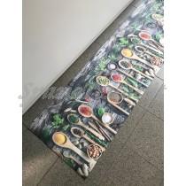 Tappeto cucina gommato multiuso 3D spezie