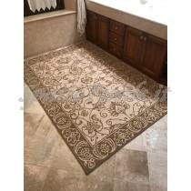 tappeto arredo ciniglia arabesco