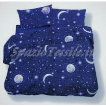 Completo lenzuola flanella luna