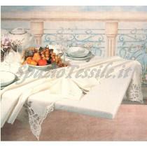 Copritavolo Mollettone Prestige  Feltro Bianco