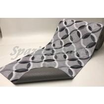 Tappeto Gommato Multiuso cerchi grigio