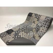 Tappeto Gommato Multiuso mattonella grigio