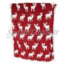Plaid Pile Renne Elk