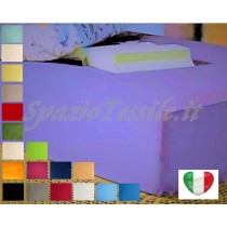 Lenzuolo Sotto Con Angoli 130x200+ H 30 cm Piazza e Mezza o  Federe 100% Cotone